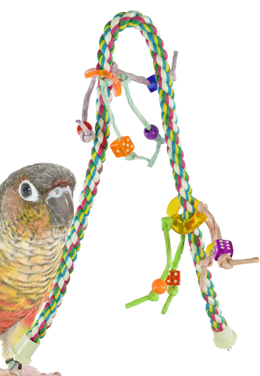 1047 Small Rope CHARM Perch.